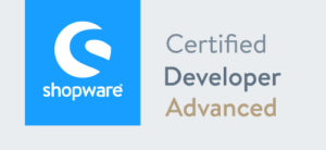 Shopware Certified Developer Advanced Logo