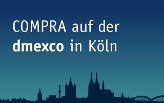 Die COMPRA auf der dmexco in Köln