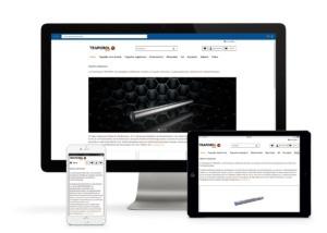 Der Traporol Online-Shop kann auf verschiedenen Geräten betrachtet werden.