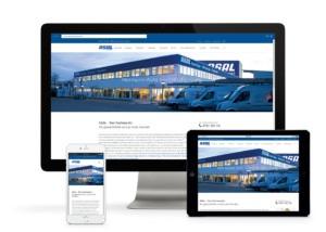 Die ASAL Homepage kann man auf unterschiedlichsten Geräten betrachten.