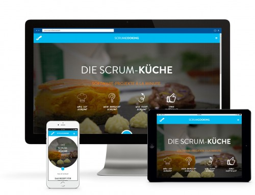 Scrumcooking Website