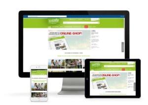 Gartenmöbel Ludwig Online Shop ist responsive