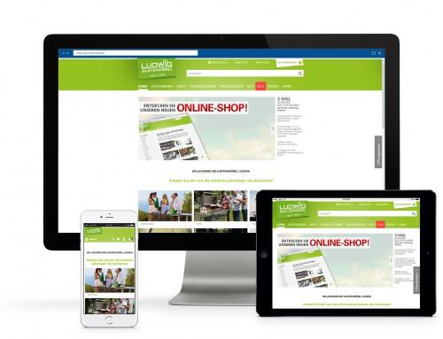 Gartenmöbel Ludwig Online-Shop