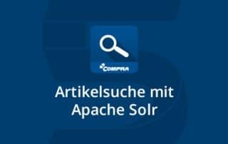 Shopware Plugin Artikelsuche mit Apache Solr