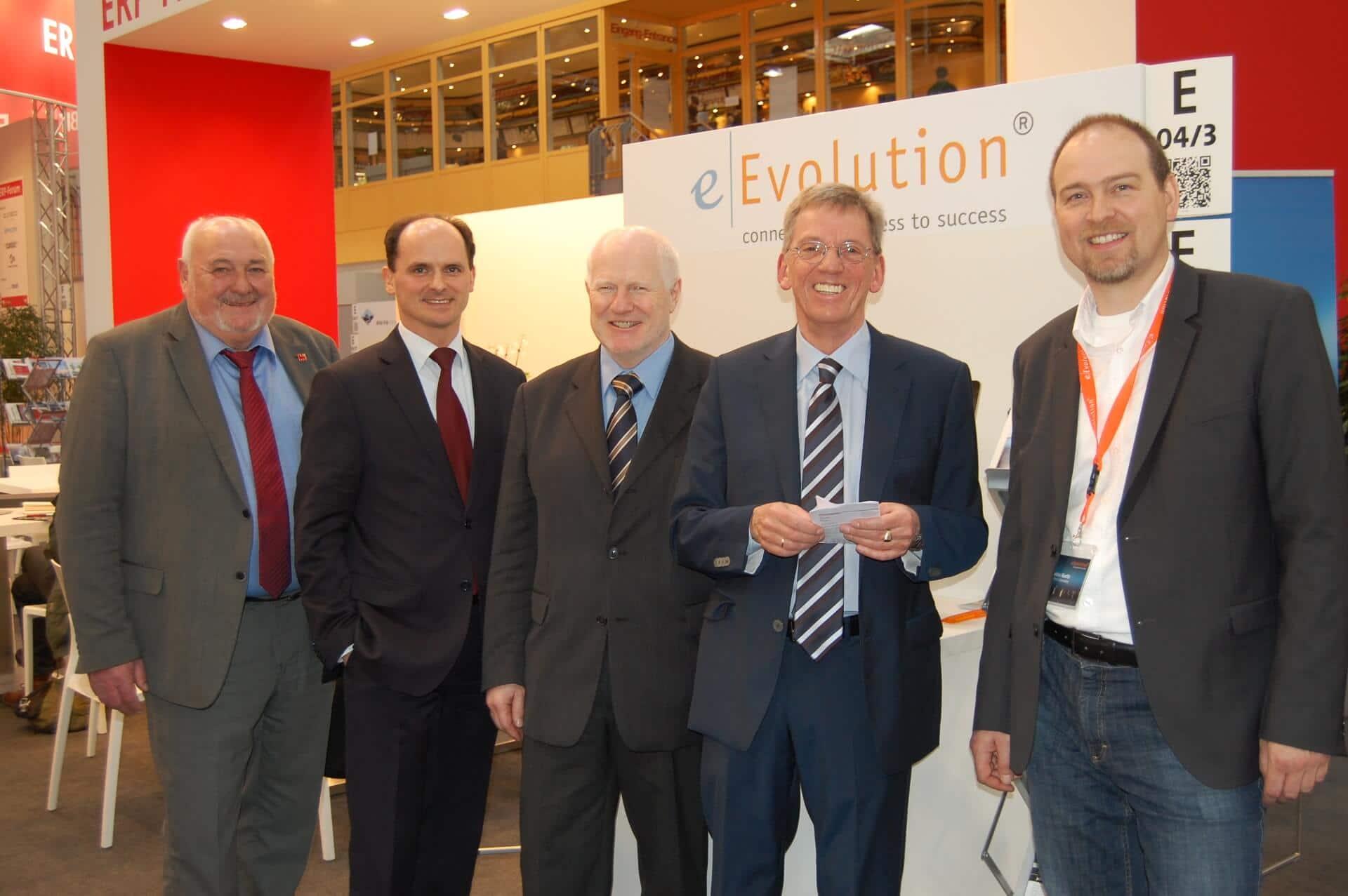 Hildesheimer Delegation besucht die COMPRA und eEVolution auf der Cebit 2016 in Hannover.