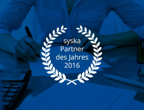 syska Partner des Jahres 2016