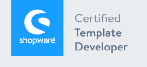 Siegel shopware certified template developer