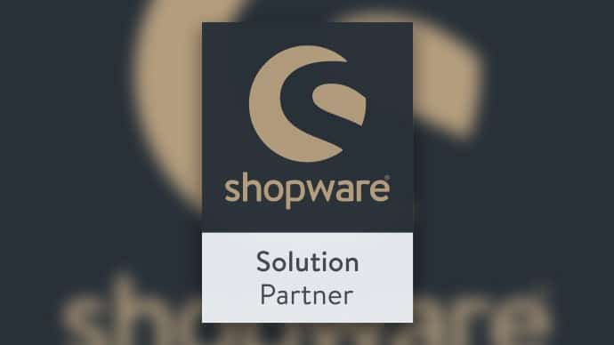 shopware Solution Partner Label Collage