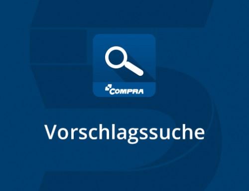 Gezielter suchen mit COMPRA Vorschlagssuche