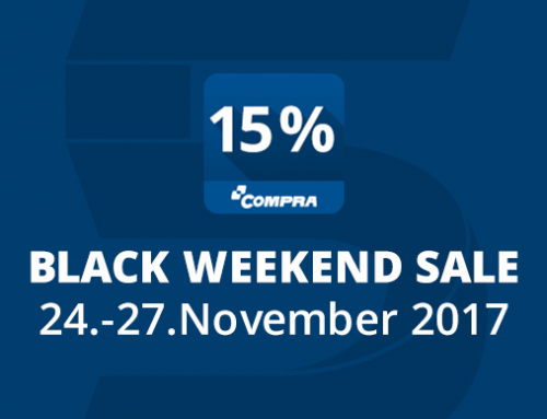Black Weekend Sale: Rabatt auf COMPRA Plugins