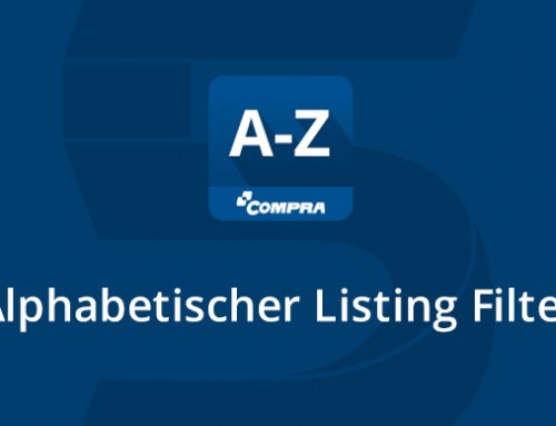 Neues COMPRA Shopware-Plugin: Alphabetischer Listing Filter
