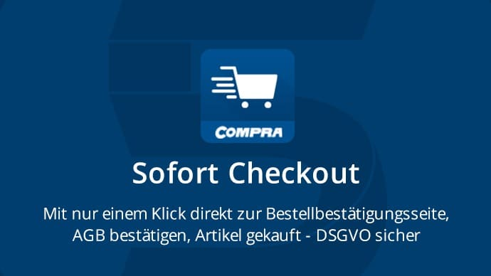 Shopware Plugin Sofort Checkout Express Kasse Comprade