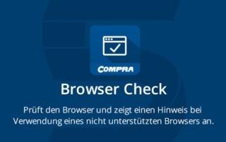 COMPRA Shopware Plugin Browser Check