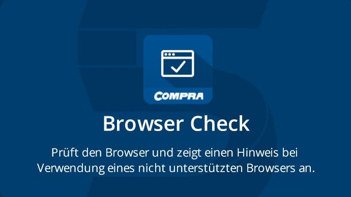 COMPRA Shopware Plugin Browser Check