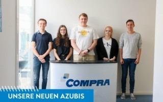 Neue Azubis bei der COMPRA GmbH 2019
