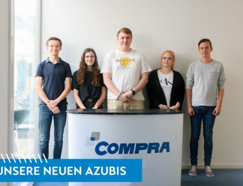 Die COMPRA bildet junge Talente aus