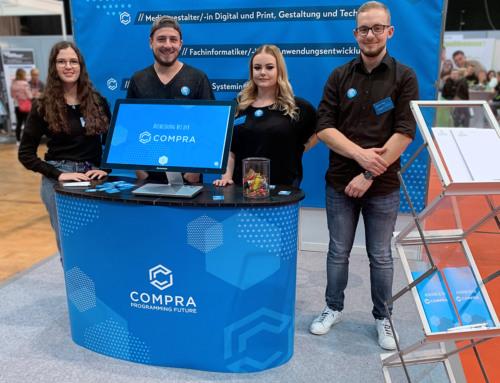 Nacht der Bewerber in Hildesheim 2019: COMPRA war dabei!