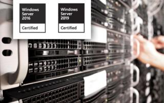 eEvolution ist für Windows Server 2016 sowie 2019 zertifiziert
