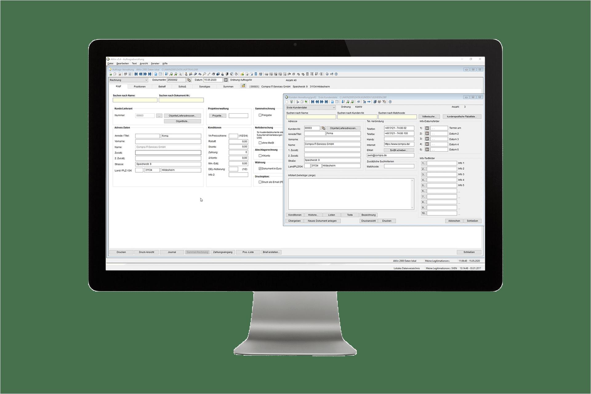 AWin Handwerker-Software
