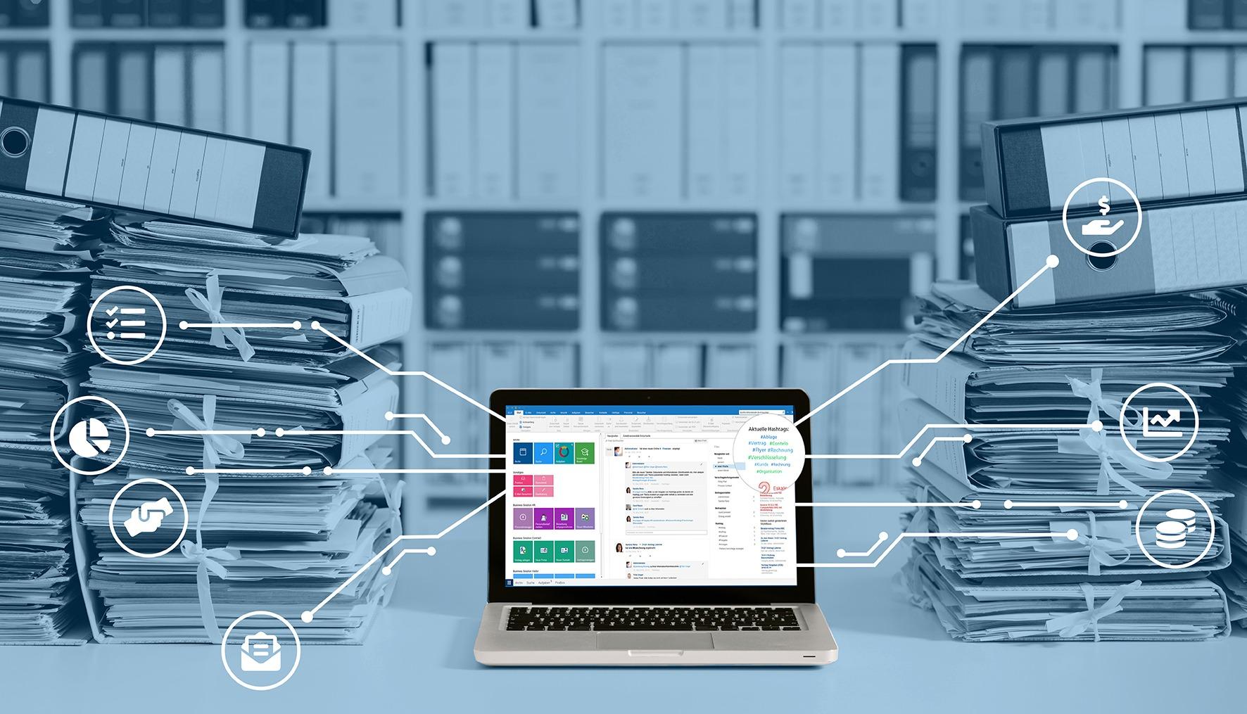 ELO Archivierung ECM Dokumentenmanagement