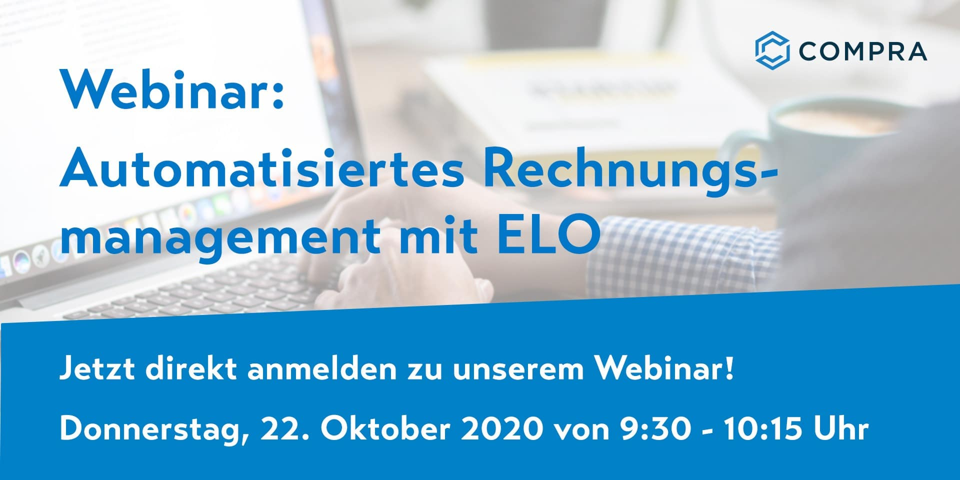 "COMPRA Webinar ""Rechnungsmanagement mit ELO"""